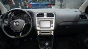 2014 VW Polo facelift dashboard at Geneva Motor Show 2014