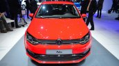 2014 VW Polo facelift front at Geneva Motor Show 2014