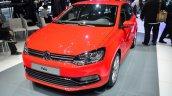 2014 VW Polo facelift front three quarters at Geneva Motor Show 2014
