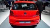 2014 VW Polo facelift rear at Geneva Motor Show 2014