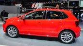 2014 VW Polo facelift side at Geneva Motor Show 2014