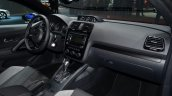 2014 VW Scirocco Facelift dashboard passenger side at Geneva Motor Show