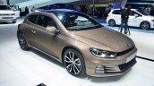 2014 VW Scirocco Facelift front three quarters at Geneva Motor Show