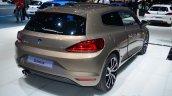 2014 VW Scirocco Facelift rear three quarters at Geneva Motor Show