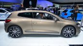 2014 VW Scirocco Facelift side at Geneva Motor Show