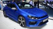 2014 VW Scirocco R Facelift front three quarters at Geneva Motor Show