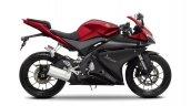 2014 Yamaha YZF-R125 Anodized Red press shot