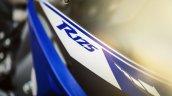 2014 Yamaha YZF-R125 badge press shot