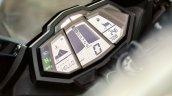 2014 Yamaha YZF-R125 dashboard detail press shot