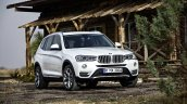 2015 BMW X3 facelift press shot front