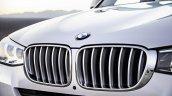2015 BMW X3 facelift press shot grille