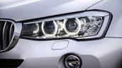 2015 BMW X3 facelift press shot headlight