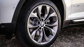 2015 BMW X3 facelift press shot wheel
