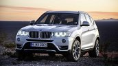 2015 BMW X3 facelift press shot