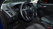 2015 Ford Focus Facelift dashboard at Geneva Motor Show