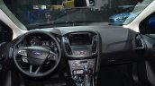 2015 Ford Focus Facelift dashboard full view at Geneva Motor Show
