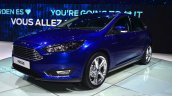 2015 Ford Focus Facelift front three quarters at Geneva Motor Show