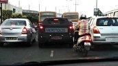 2015 Hyundai i20 Spy Images Chennai rear