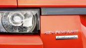 2015 Range Rover Evoque Autobiography Dynamic Press Shot badge