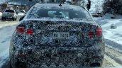 2016 BMW X6 spied USA rear