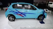 Accessorized Datsun Go at Auto Expo 2014 side blue 2
