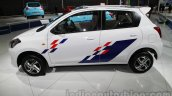 Accessorized Datsun Go at Auto Expo 2014 side