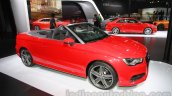 Audi A3 Cabriolet at Auto Expo 2014 front quarter