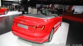 Audi A3 Cabriolet at Auto Expo 2014 rear quarter