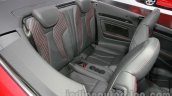 Audi A3 Cabriolet at Auto Expo 2014 rear seat