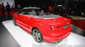 Audi A3 Cabriolet at Auto Expo 2014 rear three quarters