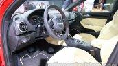 Audi A3 sedan cockpit at Auto Expo 2014