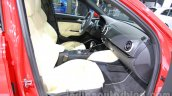 Audi A3 sedan front seats at Auto Expo 2014