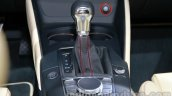 Audi A3 sedan gear shifter at Auto Expo 2014