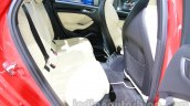 Audi A3 sedan rear seat space at Auto Expo 2014