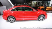 Audi A3 sedan side at Auto Expo 2014
