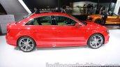 Audi A3 sedan side at Auto Expo 2014