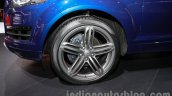 Audi Q7 special edition Auto Expo wheel
