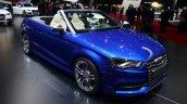 Audi S3 Cabriolet front three quarter - Geneva Live
