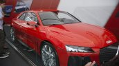 Audi Sport Quattro Concept front three quarters at the 2014 Goodwood Festival of Speed