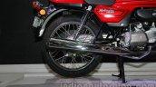 Auto Expo 2014 Hero Splendor Pro Classic Cafe Racer rear wheel