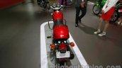 Auto Expo 2014 Hero Splendor Pro Classic Cafe Racer rear