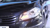 Auto Expo 2014 Maruti S Cross headlamp