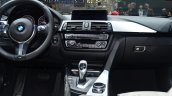 BMW 4 Series Gran Coupe center console at Geneva Motor Show