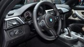 BMW 4 Series Gran Coupe dashboard driver side at Geneva Motor Show