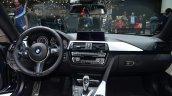 BMW 4 Series Gran Coupe dashboard full view at Geneva Motor Show