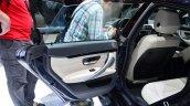 BMW 4 Series Gran Coupe frameless door at Geneva Motor Show