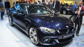 BMW 4 Series Gran Coupe front three quarters view at Geneva Motor Show