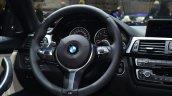 BMW 4 Series Gran Coupe steering at Geneva Motor Show