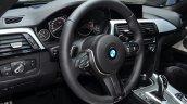 BMW 4 Series Gran Coupe steering wheel at Geneva Motor Show