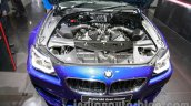 BMW M6 Gran Coupe engine bay live